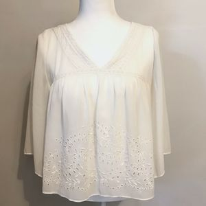 Abercrombie & Fitch Boho Peasant Blouse Small